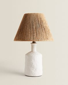 Paper Lampshade, Lampshades, Living Room Lighting, Bedroom Lighting, Diy Abat Jour, Pallet Tv Stands, Zara Home España, Tv Stand Console, Zara Home Stores