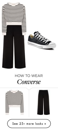 """""""Z style #5"""" by shofiyya on Polyvore featuring Ted Baker and Converse"""