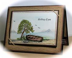 FS419, CT0115, Thinking of You (PR) Moon Lake, Hardwood and Sanded BG - stunning card!! By Pat (aka kokirose)