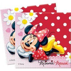 Acabamos de recibir estas preciosas servilletas de la coleccion de lunares de Minnie Mouse. Podeis ver más artículos en nuestra tienda http://www.articulos-fiestas-infantiles.es/142-fiesta-cumpleanos-minnie-mouse