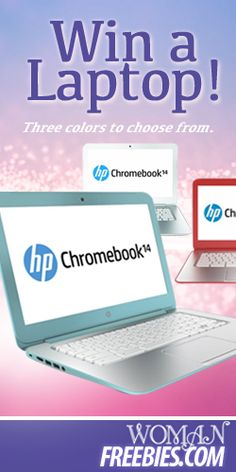 Win A Colorful Chromebook Laptop! TERRIFIC GIVEAWAY! Enter here  http://womanfreebies.com/sweepstakes/colorful-chromebook For Your Chance To Win! You Know I DEFINITELY ENTERED!!!!! Thanks, Michele :)