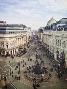 """travelthisworld: """" Piccadilly Circus View - London, England 