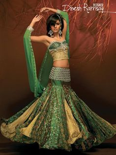 the sangeet or reception lehenga