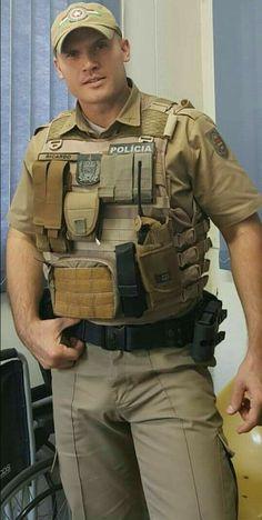 Cop Uniform, Men In Uniform, Beautiful Men Faces, Gorgeous Men, Sexy Military Men, Sexy Tattooed Men, Hot Cops, Scruffy Men, Hunks Men