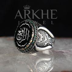er-Râfi' Yazılı Erkek Yüzük - Arkhe Jewel Class Ring, Rings For Men, Jewelry, Men Rings, Jewlery, Jewerly, Schmuck, Jewels, Jewelery