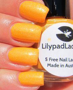 Lilypad Lacquer Mango Buzz