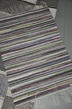 Tear, Recycled Fabric, Woven Rug, Color Inspiration, Carpets, Recycling, Weaving, Colour, Rugs