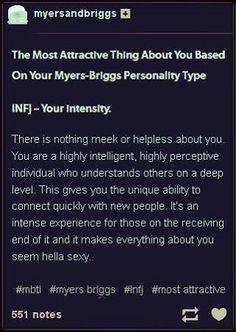 Lets hope so ;P Infj Infj Mbti, Intj And Infj, Infj Type, Enfj, Infj Personality, Myers Briggs Personality Types, Personality Characteristics, Myers Briggs Infj, Mantra