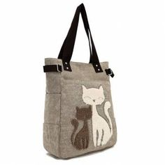 Foldaway Tote - Kitty dreaming bag by VIDA VIDA 9wQbl3N1
