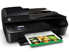 HP Officejet 4630 e-All-in-One Wireless Printer Copier Scanner Fax Photo Wifi #HP