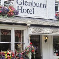 Dinner, bed and breakfast offers at The Glenburn Hotel in #Windermere this Autumn.