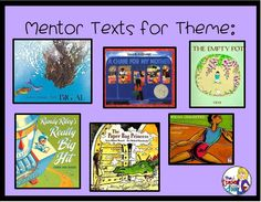 It's one thing to teach concepts like characters, setting, and plot. Most kids get these without too much trouble, but it's another thing to teach your kids to find the theme of a piece of literature. This higher level thinking, much more abstract reading Reading Lessons, Reading Skills, Teaching Reading, Guided Reading, Reading Library, Early Reading, Math Lessons, Teaching Ideas, Learning