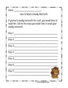 How to wash A Woolly Mammoth How to writing piece
