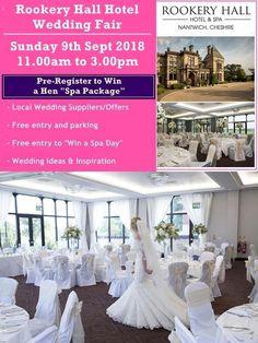 Hotel Wedding, Wedding Venues, Wedding Fayre, Spa Packages, Free Entry, Hotel Spa, Spa Day, Bride, Business