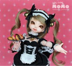 OUENEIFS Dollpamm momo bjd sd yosd toy 1/6 model reborn baby girls boys dolls eyes High Quality toys shop make up resin anime  #Affiliate