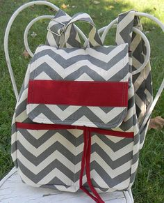 Backpack Diaper Bag Nappy Bag purse by vibrantdesigns on Etsy, $60.00