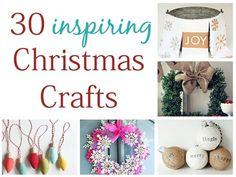 30 inspiring Christmas crafts