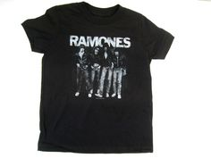 Ramones toddler t-shirt Punk Rock Band Members Kids Boys Girls Black  2T #Ramones #Everyday