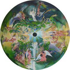 "Saatchi Online Artist: Abeer Elkhateb; Oil, 2011, Painting ""The Wild"" #aloe"