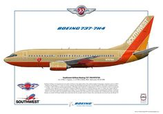 Southwest Airlines B737-700