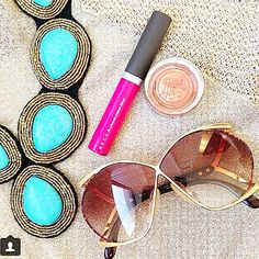Cayetano Legacy Collection Maximina Turquoise www.cayetanolegacy.com- with BECCA Cosmetics