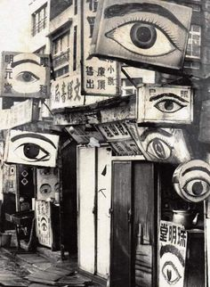 """fuckyeahmodernflapper: """" Chinese oculist posters, circa 1930 Source: Facebook. """""""