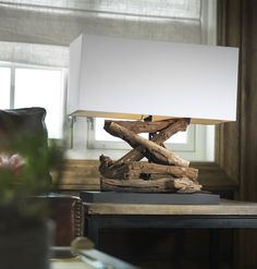 Driftwood Lamp Do it Yourself Project