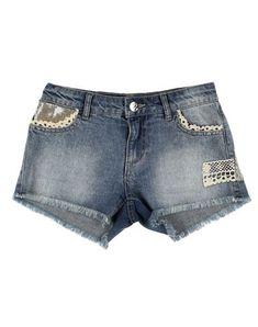 78f3b5e95d TWIN-SET Simona Barbieri Girl s  Denim shorts Blue 1 Shorts Jeans