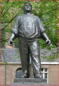 February Strike Statue - On 2/25/41, workers in Amsterdam went on strike because of the treatment they were receiving.