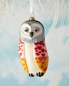 Owl Christmas Ornament at Neiman Marcus.