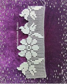 "Reklam DM: "" Quote Other hasaplarim . Crochet Lace Edging, Crochet Borders, Crochet Chart, Crochet Doilies, Crochet Flowers, Hand Crochet, Crochet Stitches, Diy Crafts Crochet, Crochet Projects"