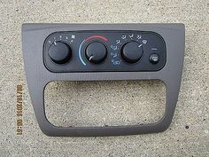 nice 01 - 06 DODGE STRATUS CHRYSLER SEBRING AC HEATER CLIMATE  TEMPERATURE CONTROL - For Sale View more at http://shipperscentral.com/wp/product/01-06-dodge-stratus-chrysler-sebring-ac-heater-climate-temperature-control-for-sale-2/