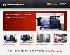 Hyperbaric Chamber Sales | Tekna sells Monoplace Hyperbaric Chamber and Multiplace Hyperbaric Chamber Systems - HBOT Hyperbaric Oxygen Therapy Chambers