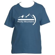 Rocky Mountains Mountaineer - Youth/Kid's T-Shirt