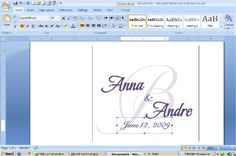 How To Design Your Own Monogram In Microsoft Word -