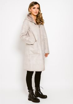 Neutral Tones, Fur Coat, Beige, Trends, Jackets, Fashion, Taupe, La Mode, Fashion Illustrations