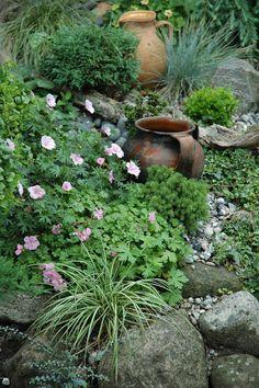 rock garden...HAVETID: En sang om sommer.