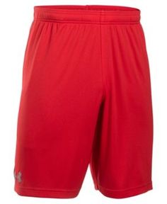 "Under Armour Men's 10"" Tech Graphic Shorts - Red 3XL"