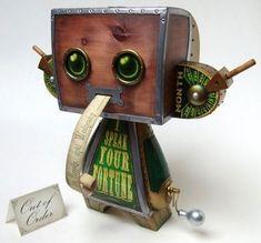 Doktor A - Steampunk Fortune Teller Vinyl Toy