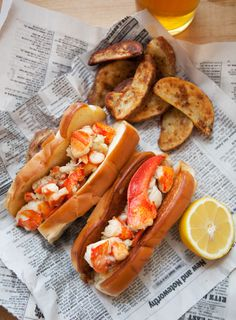 Brown Butter Lobster Rolls / by Better Happier St. Sebastian