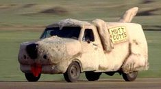 The 100 Greatest Movie and TV Cars - Dumb and Dumber Mutt Cutts Van Movies And Series, Movies And Tv Shows, Film Movie, Cinema Film, Film Cars, Strange Cars, Famous Movies, Car Humor, Great Movies
