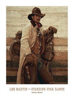 "James Bama:  ""Lee Martin - Standing Star Ranch"""