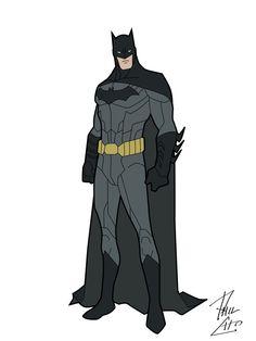 Batman's most recent look in DC's New52!