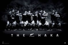 New Zealand All Blacks! love this Rugby team!