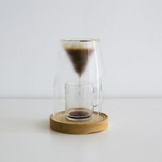 Manuel Coffeemaker is a minimalist design created by USA-based designer Craighton Berman Studio. Coffee is best when it's carefully prepared one cup at a time. Much like other culinary pursuits, the craft of preparing coffee can be just as enjoyable as the end product. MANUAL is a 'slow coffee' appliance that was designed to quietly sit on your countertop and provide the control of the pour-over brewing process in a single-cup preparation. (5)