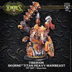 Hordes Skorne Titan Gladiator Heavy Warbeast Privateer Press