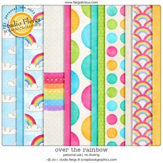 "Photo from album ""{over the rainbow}"" on Yandex. Over The Rainbow, Views Album, Scrapbook, Templates, Yandex Disk, Digital Papers, Holidays, Free, Filing Cabinets"