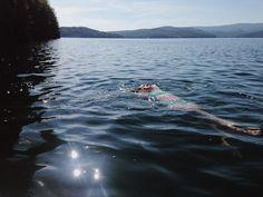 Soakin' up these last Summer rays at Lake Jocassee.  by sarahmariemarko // yeahTHATgreenville