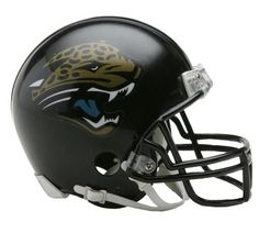 Jacksonville Jaguars Mini Throwback Helmet-Mini VSR4 Helmet