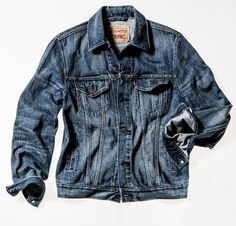 levi's denim jacket  My love of denim jackets is unparalleled.